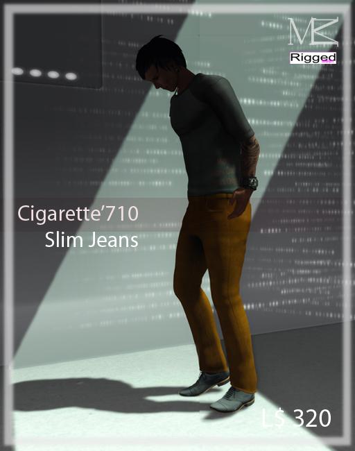 Miamai_Cigarette'710 Jeans_playbill01