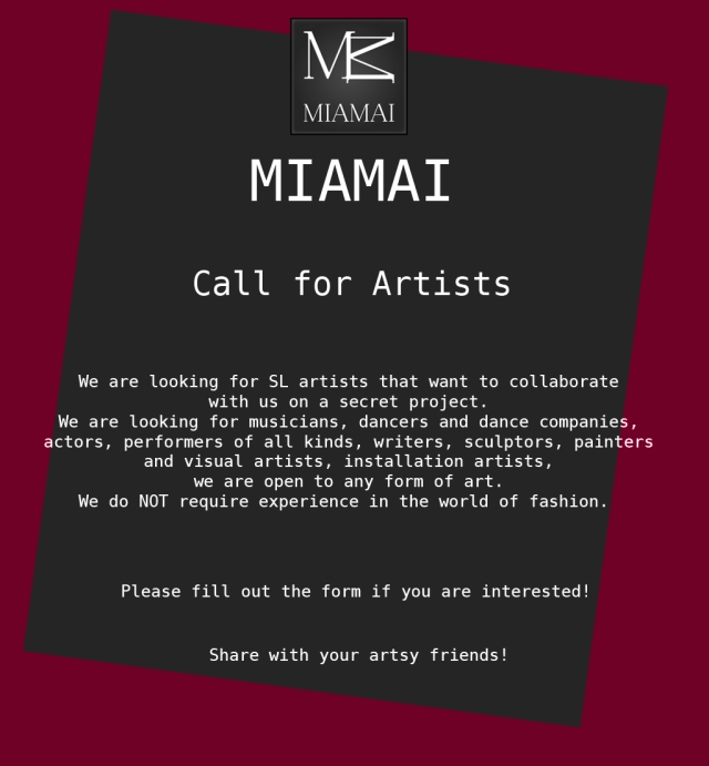 Miamai_CallForArtists2013