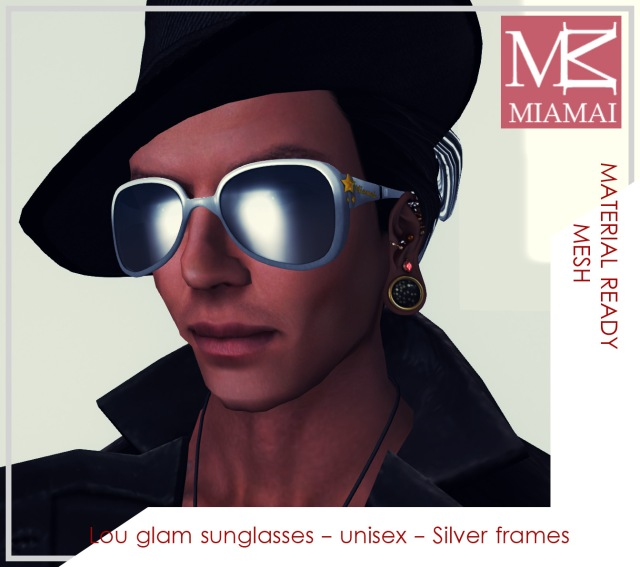 MIAMAI_Lou glam sunglasses - Silver