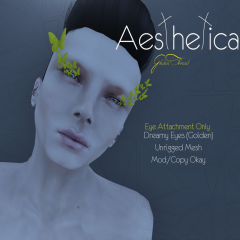 Aesthetica- Dreamy Eyes Golden Ad