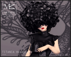 TITANIA Headpiece Black1