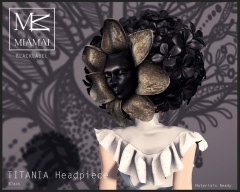 TITANIA Headpiece Black2
