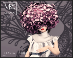 TITANIA Headpiece Rose