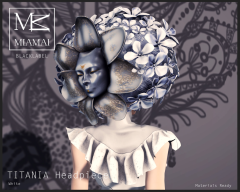 TITANIA Headpiece White2
