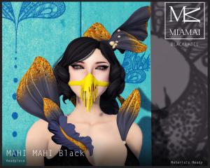 Miamai_BL_MahiMahiHeadpieceBlack