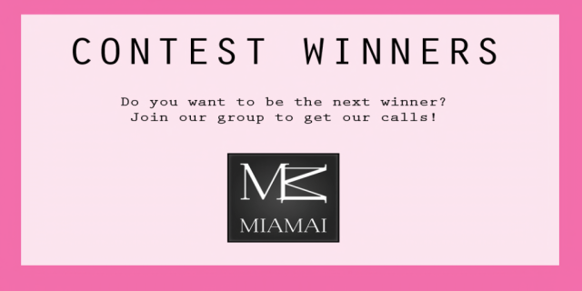 contestwinners for Miamai