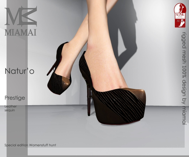 MIAMAI_Natur'O leather (pumps) Prestige_add-on Slink - ADS