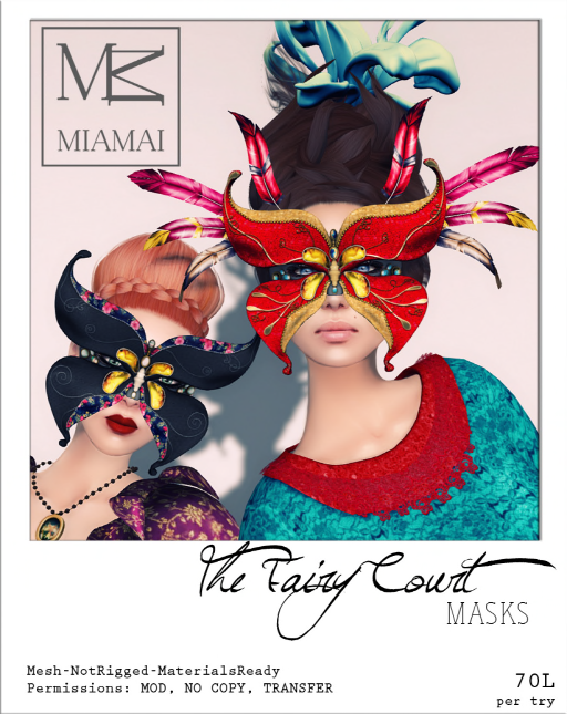 Miamai The Fairy Court Masks
