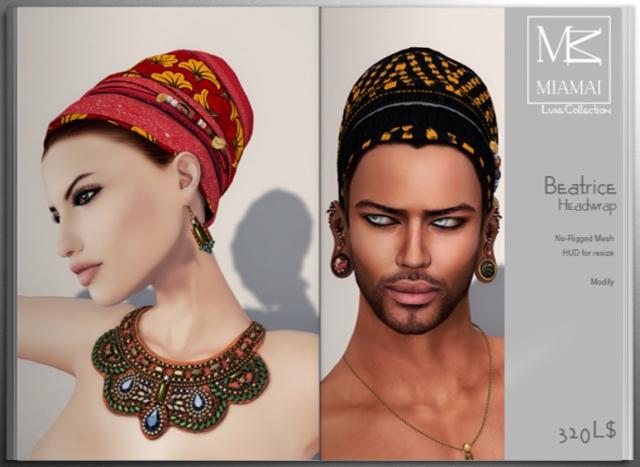 Miamai_Beatrice headwrap unisex - ADS