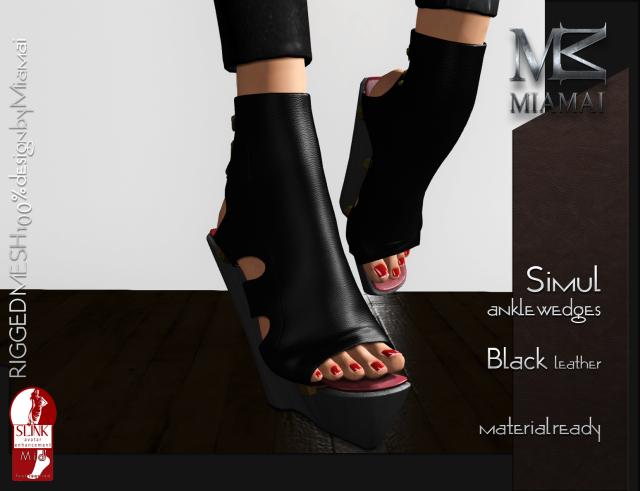 Simul Black Leather_Vendor