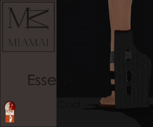 MIAMAI_EssenX pumps - Coal (Slink High) ADS