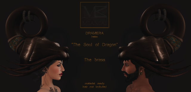 Miamai_Dramera helm_The soul of Dragon - The brass - ADS