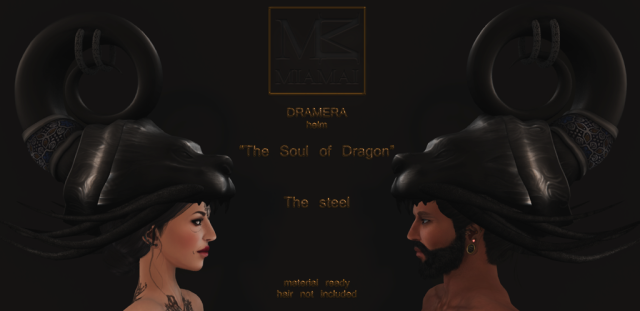 Miamai_Dramera helm_The soul of Dragon - The steel - ADS