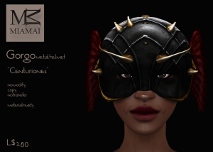 Miamai_Gorgo metal helmet - TFC Jan 2015 - Centuriones