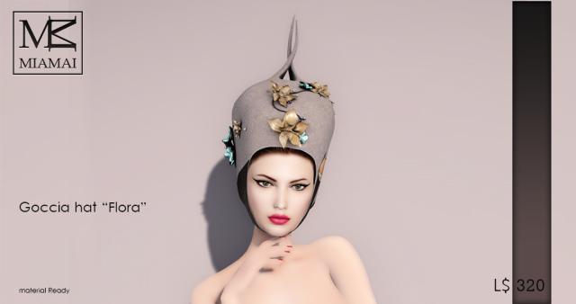 Miamai_Goccia Hat - Flora - ADS