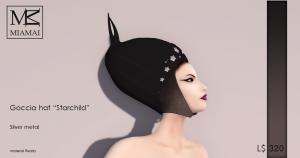 Miamai_Goccia Hat - Starchild - Silver_ADS