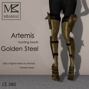 Miamai_Artemis_hunting boots_GoldenSteel_ADs