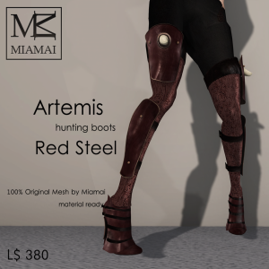 Miamai_Artemis_hunting boots_RedSteel_ADs