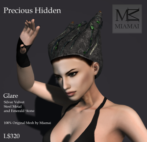 Miamai_Precious Hidden cap_Glare_ADs