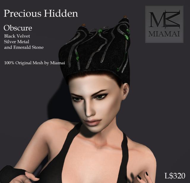 Miamai_Precious Hidden cap_Obscure_ADs