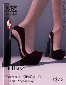 Miamai_Le Blanc - Extension Sint Croco (Slink high) ADs