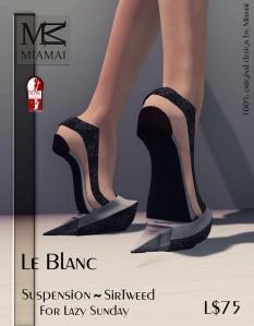 Miamai_Le Blanc - Suspension Sir Tweed (Slink high) ADs