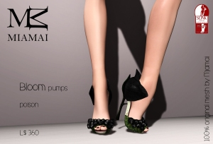 Miamai_Bloom pumps - poison (Slink high) ADs [4235555]