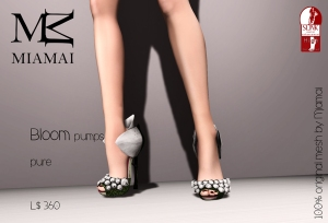 Miamai_Bloom pumps - pure (Slink high) ADs [4235556]