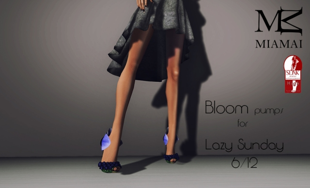 Miamai_Bloom pumps - Lazy Sunday 6 dicembre (Slink high) AD [2266786]