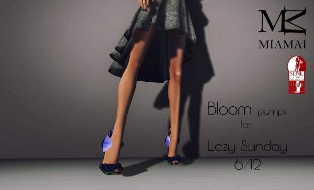 Miamai_Bloom pumps - Lazy Sunday 6 dicembre (Slink high) AD [2266786]