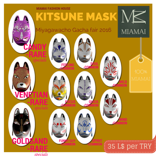 Miamai_Kitsune mask_Miyagawacho Gacha fair 2016-Key [416041]