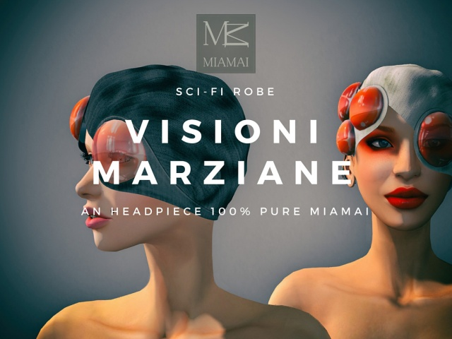 Miamai_Visioni Marziane_Sci-fi Robe_headpiece Main AD [416025]