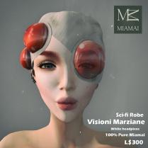 Miamai_VisioniMarziane_Sci-fi Robe_White headpiece AD [416030]