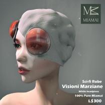 Miamai_VisioniMarziane_Sci-fi Robe_White headpiece AD2 [416031]